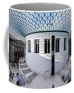 Coffee Mug featuring the photograph British Museum Color by Matt Malloy