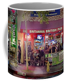British Pub Coffee Mug