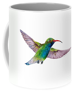 Broad Billed Hummingbird Coffee Mug