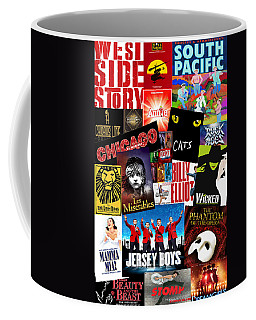 Broadway 1 Coffee Mug by Andrew Fare