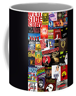 Broadway 4 Coffee Mug by Andrew Fare