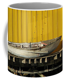Broken Boat Fisherman's Wharf Coffee Mug