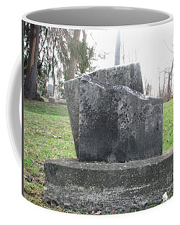 Coffee Mug featuring the photograph Broken by Michael Krek