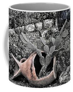 Broken Pottery Faded Coffee Mug