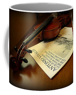 Coffee Mug featuring the photograph Broken String by Lucinda Walter