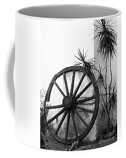 Broken Wheel Coffee Mug