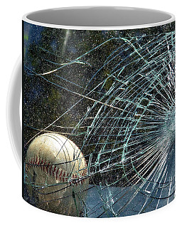 Coffee Mug featuring the photograph Broken Window by Robyn King