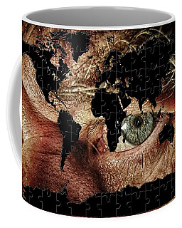 Broken World Puzzle Coffee Mug