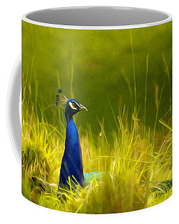 Bronx Zoo Peacock Coffee Mug