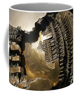 Bronze Abstract Coffee Mug