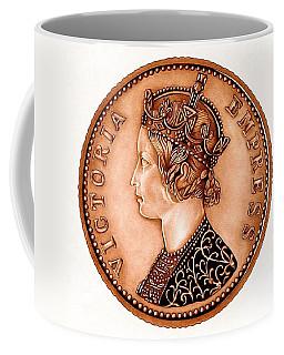 Bronze Empress Victoria Coffee Mug