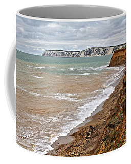 Brook Bay And Chalk Cliffs Coffee Mug