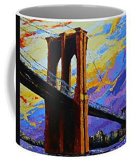 Brooklyn Bridge New York Landmark Coffee Mug