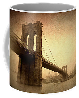 Brooklyn Bridge Nostalgia II Coffee Mug