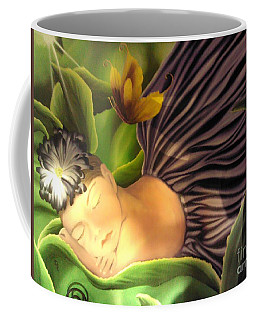 Coffee Mug featuring the painting Brooklyn by Dianna Lewis