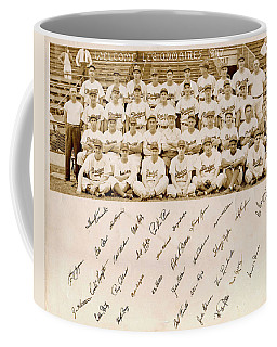 Brooklyn Dodgers Baseball Team Coffee Mug