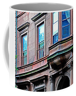 Brooklyn Heights - Nyc - Classic Building And Bike Coffee Mug