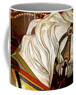 Coffee Mug featuring the photograph Brooklyn Hobby Horse by Joan Reese