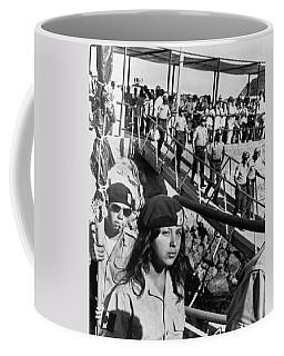 Brown Berets Leave Catalina Coffee Mug