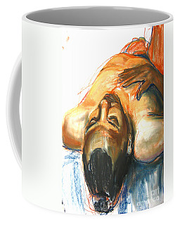 Coffee Mug featuring the drawing Brown Sugar by Gabrielle Wilson-Sealy