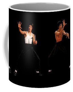 Bruce Lee Coffee Mug by Doc Braham