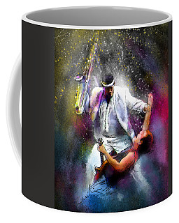 Bruce Springsteen And Clarence Clemons Coffee Mug