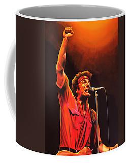 Bruce Springsteen Painting Coffee Mug