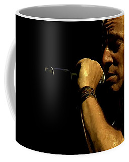 Bruce Springsteen Performing The River At Glastonbury In 2009 - 3 Coffee Mug