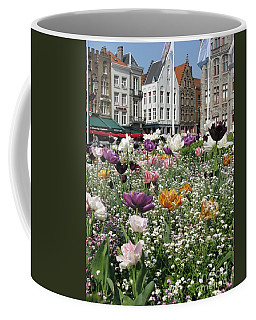 Coffee Mug featuring the photograph Brugge In Spring by Ausra Huntington nee Paulauskaite