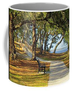 Coffee Mug featuring the photograph Brunswick Town by Cynthia Guinn