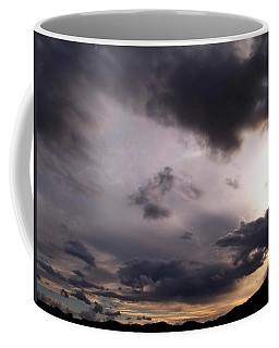Brushing A Sunset Coffee Mug