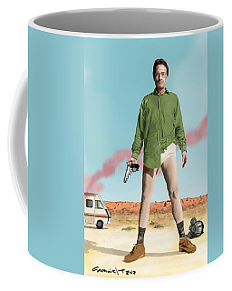 Bryan Cranston As Walter White  @ Tv Serie Breaking Bad Coffee Mug