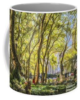 Bryant Park October Morning Coffee Mug