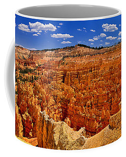 Coffee Mug featuring the photograph Bryce Canyon Panorama by Greg Norrell