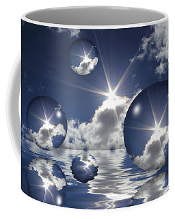 Bubbles In The Sun Coffee Mug by Shane Bechler