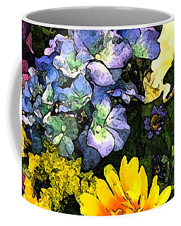 Bucket Of Flowers Coffee Mug