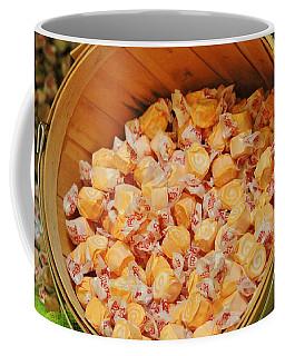 Coffee Mug featuring the photograph Bucket Of Taffy by Cynthia Guinn