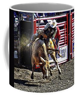 Buckin Bull Coffee Mug