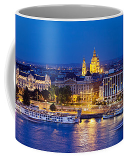 Budapest At Night Coffee Mug