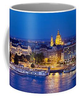Budapest At Night Coffee Mug