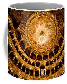 Budapest Opera House Auditorium Coffee Mug