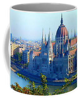 Budapest Parliament Coffee Mug by Kay Gilley