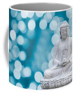 Buddha Enlightenment Blue Coffee Mug