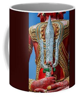 Buddha Trident Sword Coffee Mug