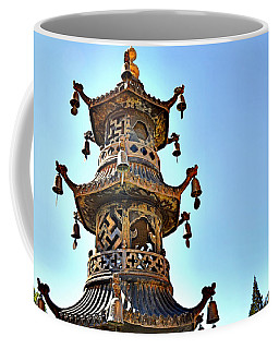 Buddhist Bells Coffee Mug