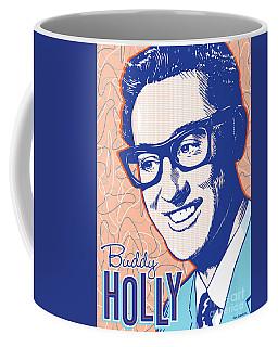Buddy Holly Pop Art Coffee Mug