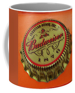 Budweiser Cap Coffee Mug by Tony Rubino