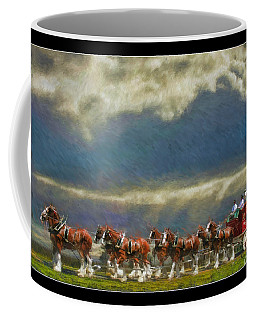 Budweiser Clydesdale Paint 2 Coffee Mug