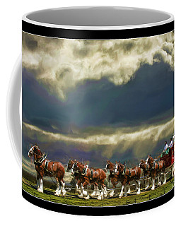 Budweiser Clydesdales Paint 1 Coffee Mug