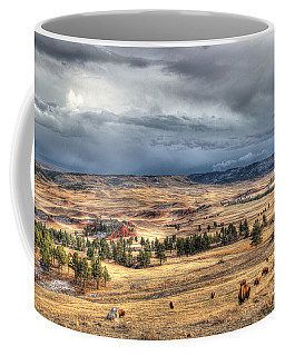Buffalo Before The Storm Coffee Mug